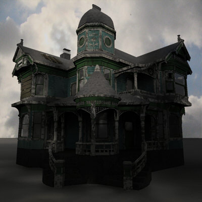 Haunted House from MDK Graphics