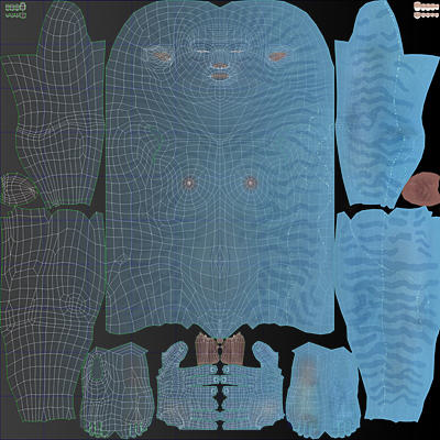 3D Models and UV Mapping - TurboSquid Blog