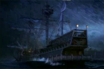 The ship as it appears in House