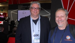 TurboSquiders Matt Hales and Mark Gerhard at GDC 2012