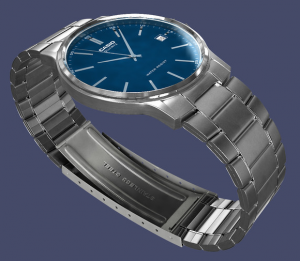 3D Model of Casio Watch by Arturbob