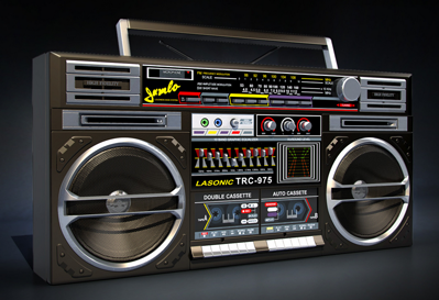 3D Model Boombox