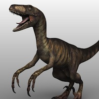 Deinonychus by 3d_Wanderer