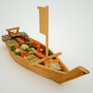 Titanic Sushi Boat by artist markflorquin