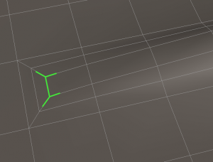The recommended method for increasing detail creates acceptable T-vertices.