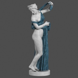Aphrodite Kallipygos by clay master