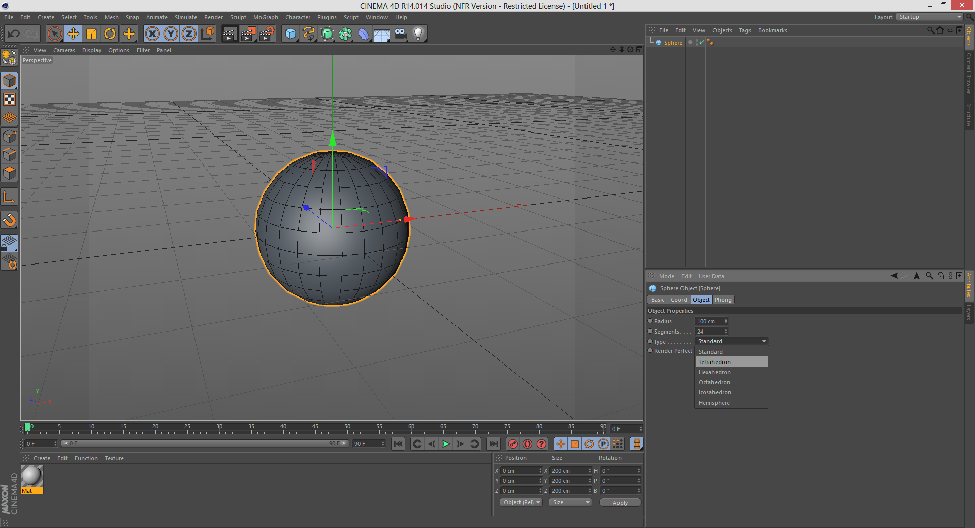 Making a Quad Sphere: 3ds Max, Maya, & Cinema 4D