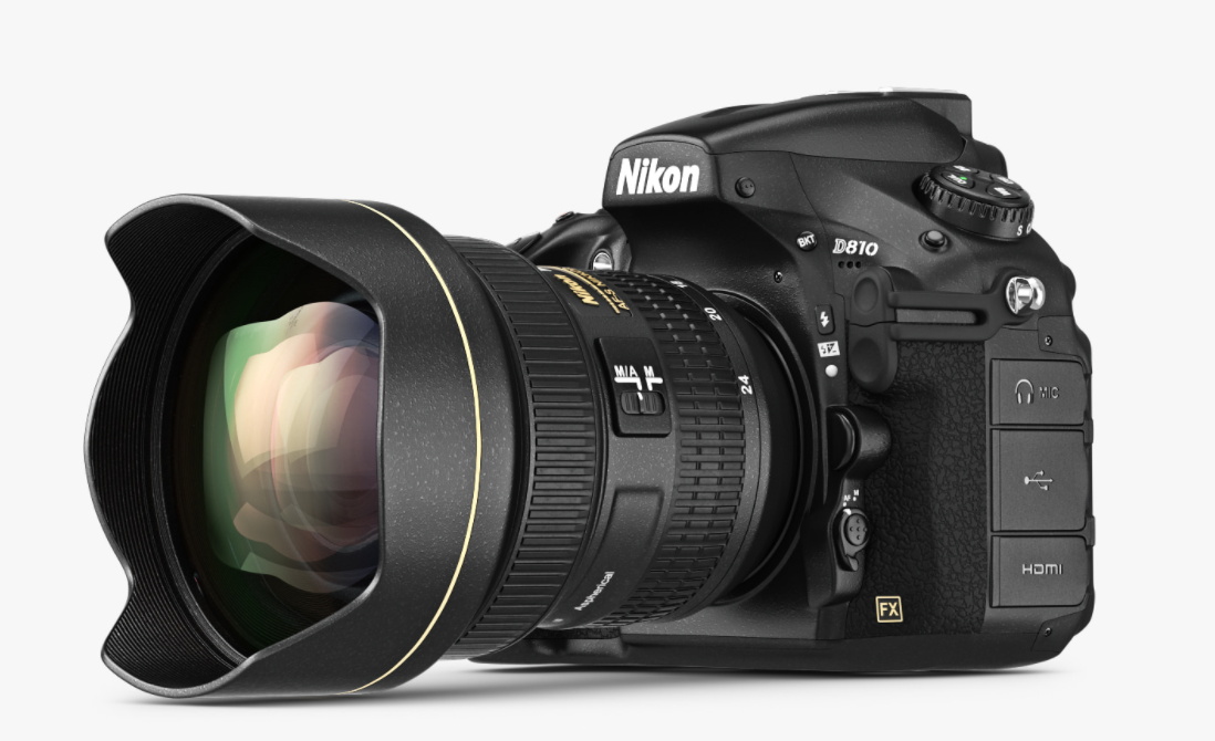 Nikon d810 a camera 3d model by ARTYuSTUDIO