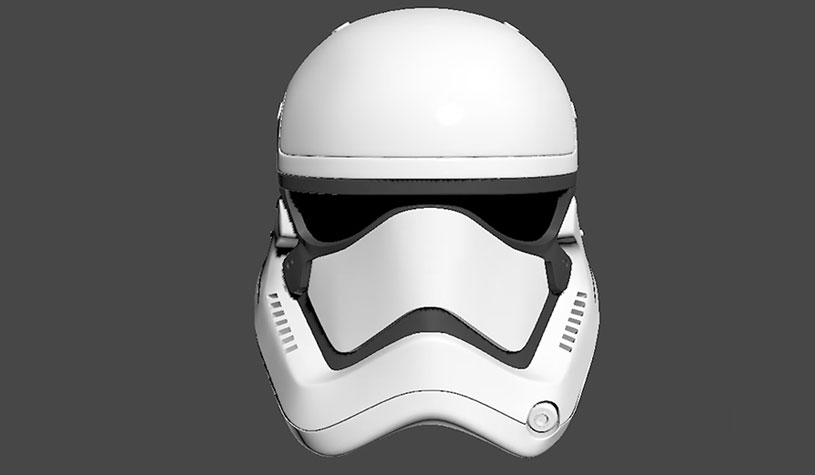 3d Modeling Tutorial of Stormtrooper helmet by Alzarac