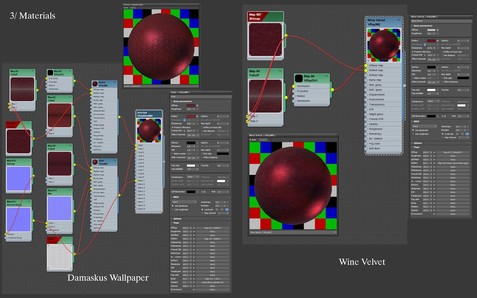 Opera Garnier Material Editor