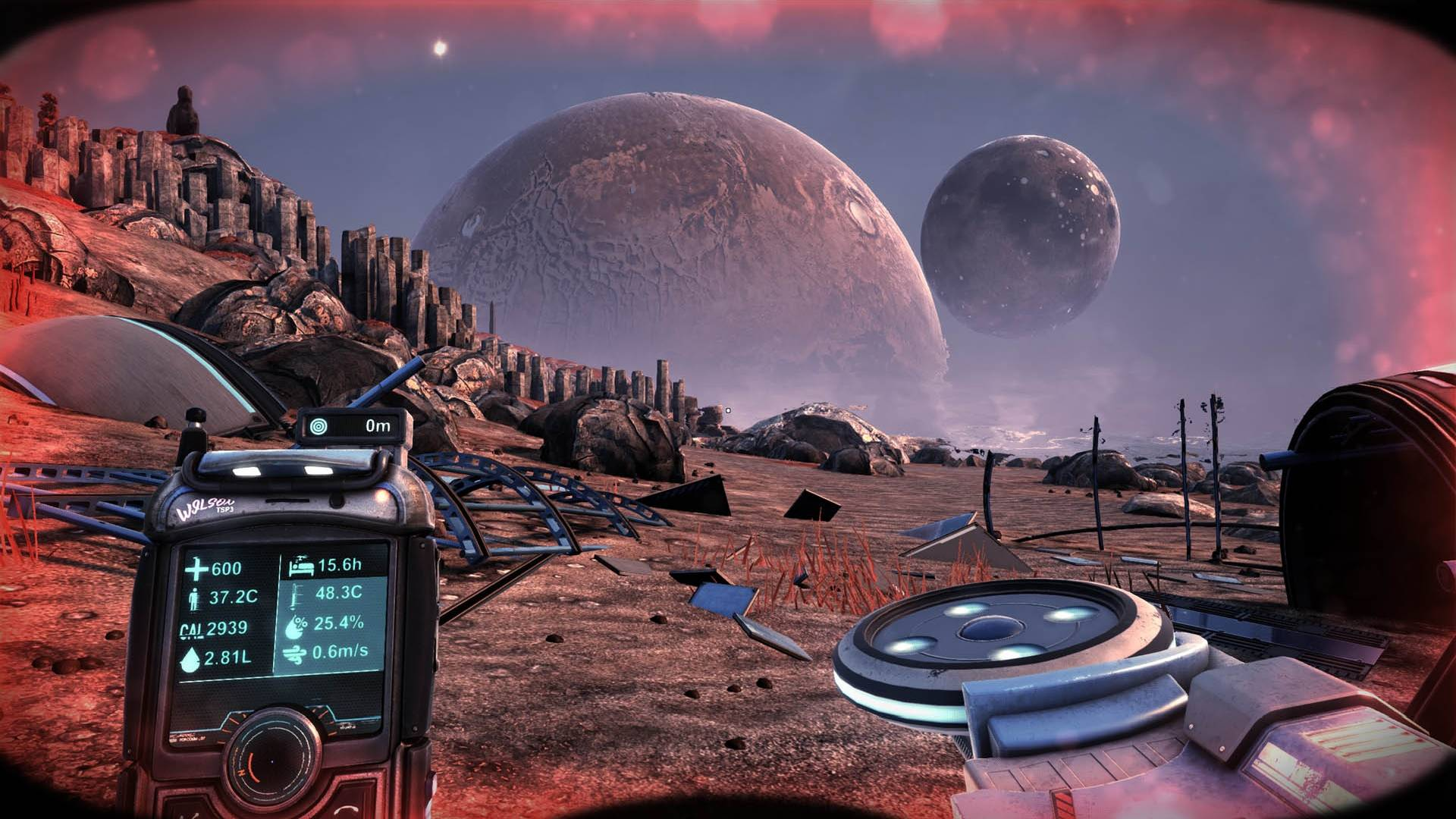 Gameplay in The Solus Project