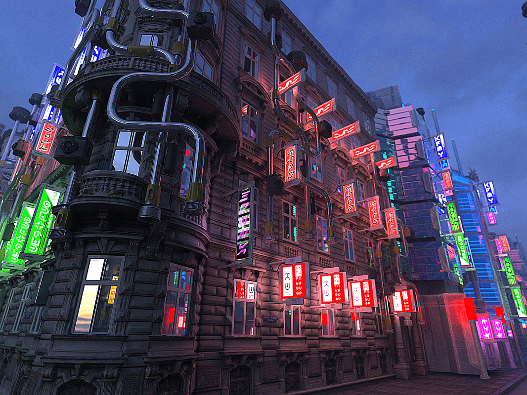 3D Futuristic City HD by Asset Scan 3d