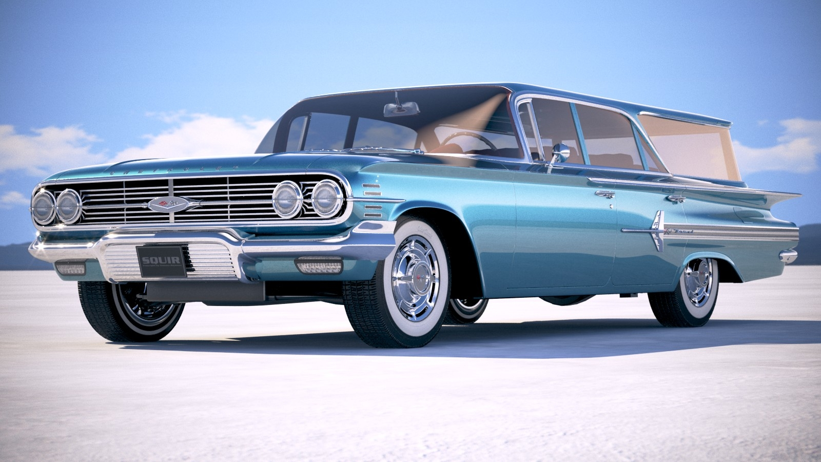 Chevrolet Nomad Wagon 1960 3D model by squir