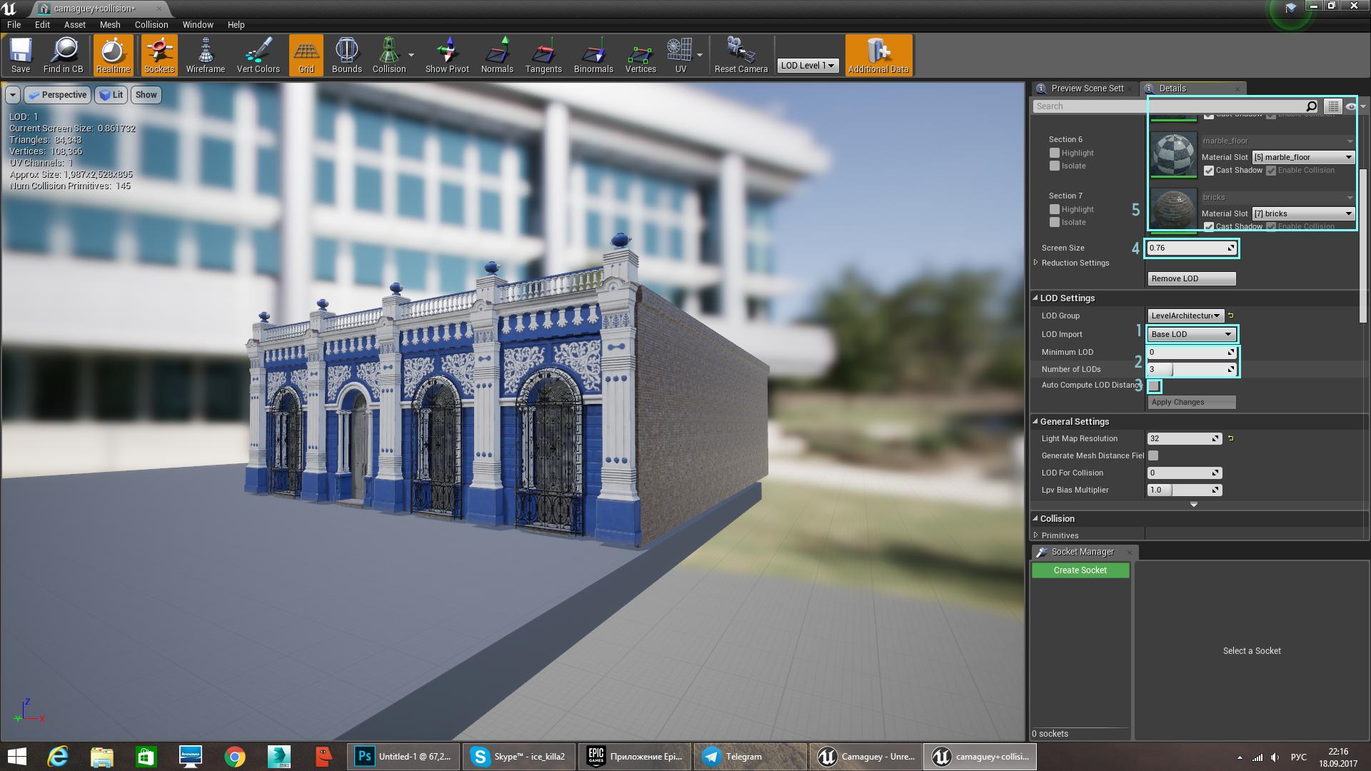 Artist Guest Post: YurkP - Preparing Models for Unreal Engine
