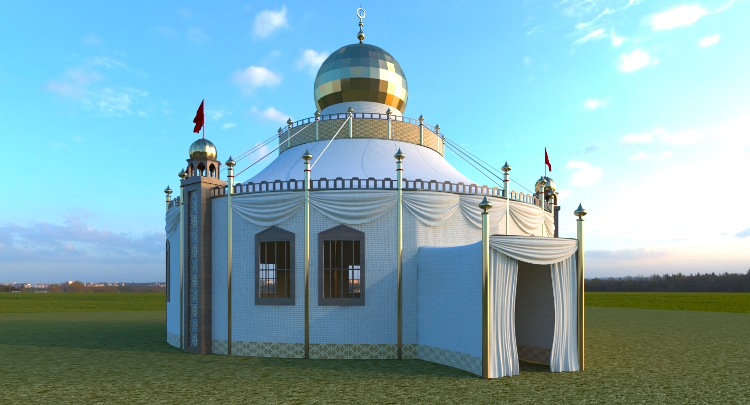Persian Tent 3D Model by ATstudio