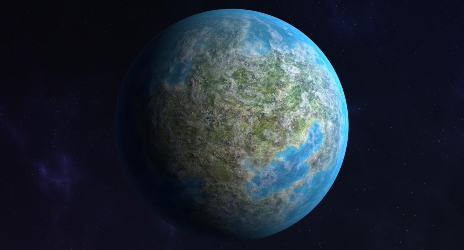 Planet 02 model by mehtiozturk