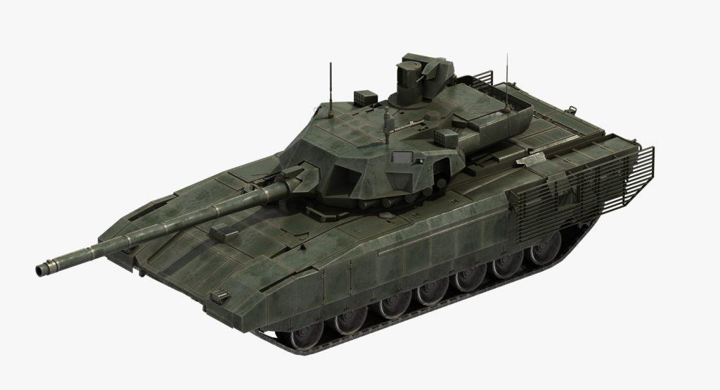 Armata T-14 Tank 3D by ES3DStudios