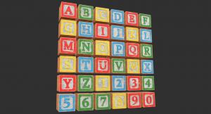 Blocks 3D Model
