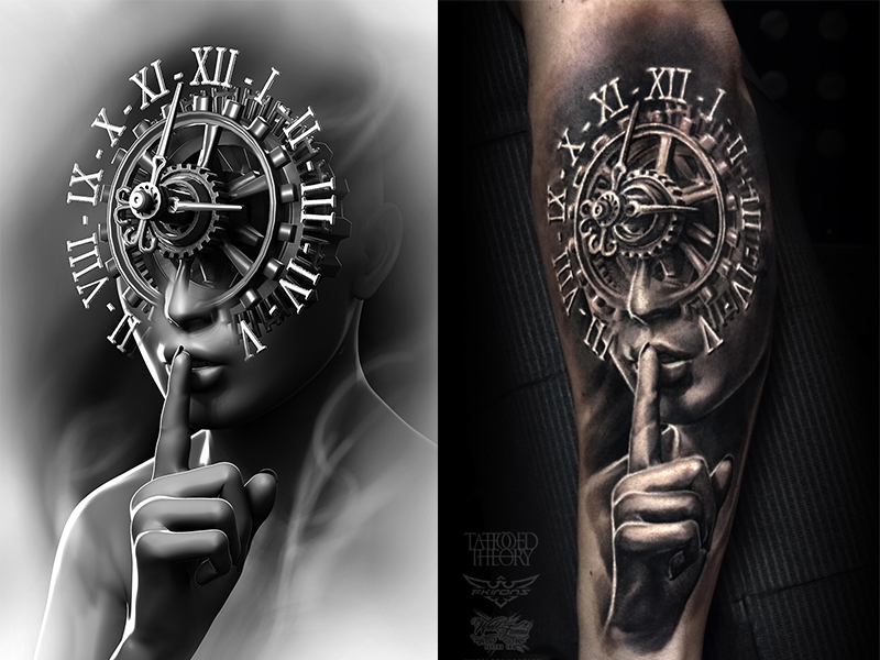 Silence by Tattooed Theory's Javier Antunez