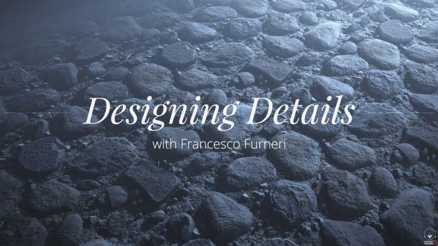 Francesco Furneri provides a detailed description of his workflow for creating procedurally designed rocks made entirely in Substance Designer with Marmoset Toolbag.