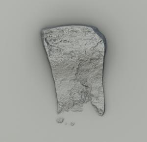 Rock created in Substance Designer, variant 3.