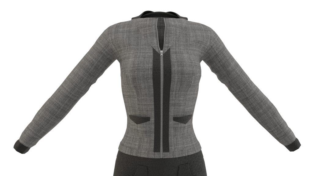 Sport Suit 3D model by Maya1992