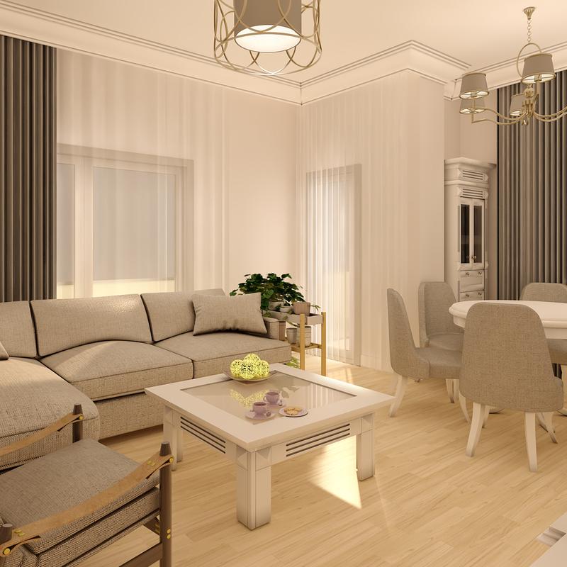 House Interior 3D Model by Semsa